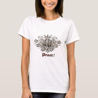 PROST ! VINTAGE BIER KEG PRINT T-Shirt