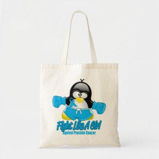 Prostate Cancer Fighting Penguin Tote Bag