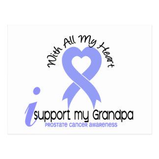 PROSTATE CANCER I Support My Grandpa Postcard