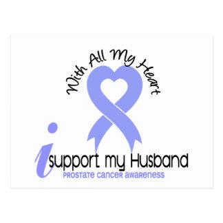 PROSTATE CANCER I Support My Husband Postcard