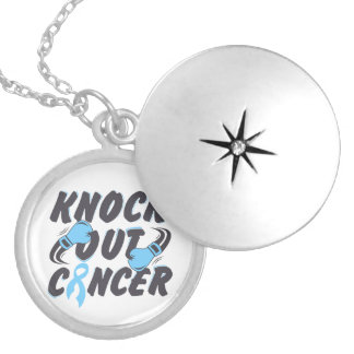 Prostate Cancer Knock Out Cancer Necklace