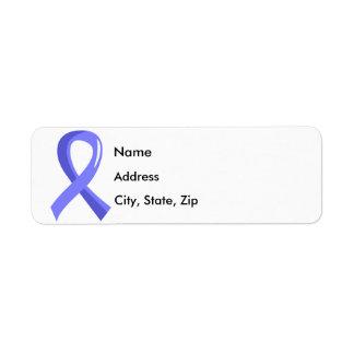 Prostate Cancer Light Blue Ribbon 3