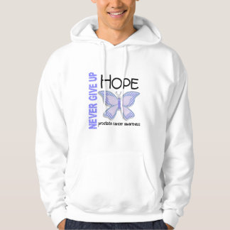 Prostate Cancer Never Give Up Hope Butterfly 4.1 Hoodie
