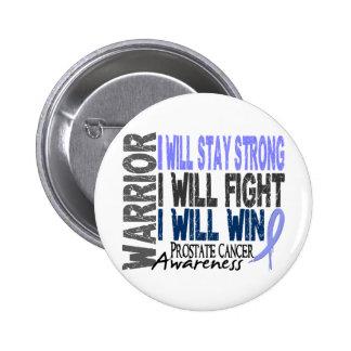 Prostate Cancer Warrior 2 Inch Round Button