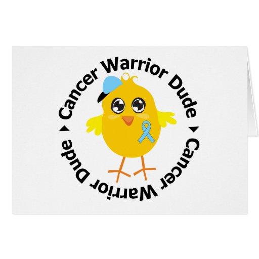 Prostate Cancer Warrior Dude Cards