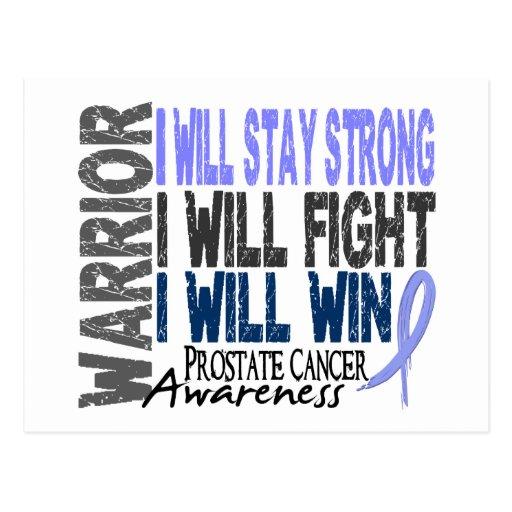 Prostate Cancer Warrior Post Cards