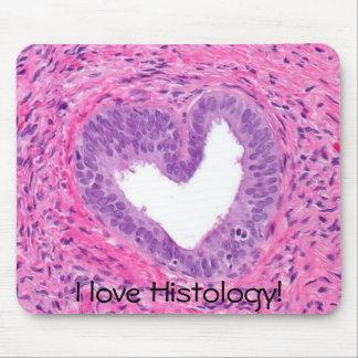prostate -heart, I love Histology! Mouse Pad