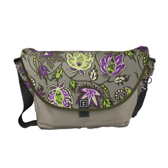Protea Batik Tropical Messenger Bag