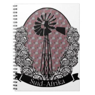 Protea en Windpomp Notebook
