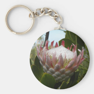 Protea Flower Hawaii Keychain