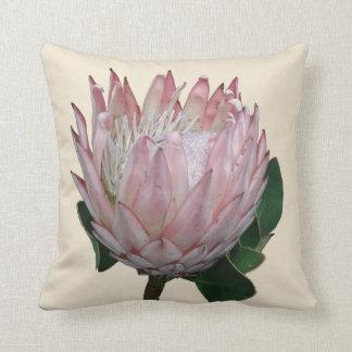 Protea Flower Ice-cream Throw Pillow