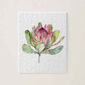Protea Flower Jigsaw Puzzle