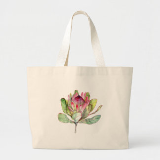Protea Flower Large Tote Bag