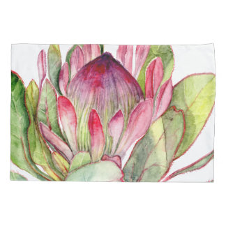Protea Flower Pillowcase