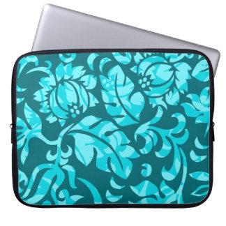 Protea Pareau Tropical Floral Neoprene Wetsuit Laptop Sleeve