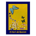 Protect All Habitats Poster