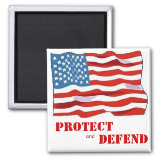 Protect and Defend Magnet