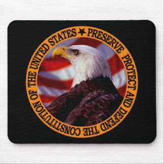 Protect And Defend Mouse Pad