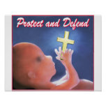 Protect and Defend Poster