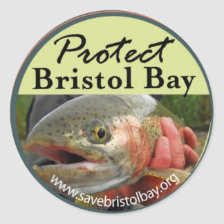 Protect Bristol Bay  Sticker