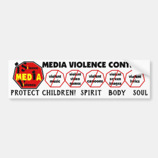 Protect Children! Spirit Body Soul Eng Bumper Sticker