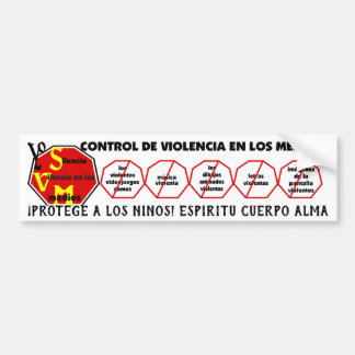Protect Children! Spirit Body Soul Esp Bumper Sticker