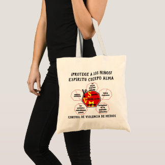 Protect Children! Spirit Body Soul Esp Tote Bag