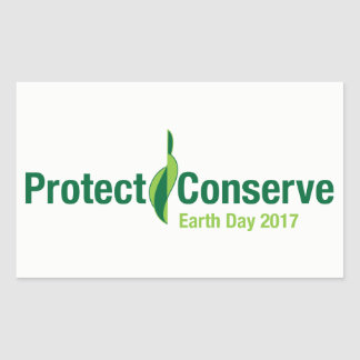 Protect & Conserve 2017 Sticker