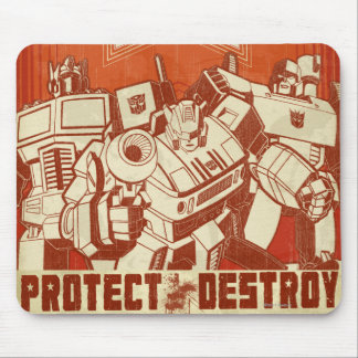 Protect/Destroy Mouse Pad
