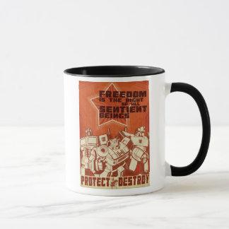 Protect/Destroy Mug