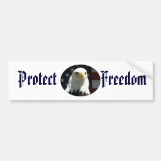 Protect Freedom Bumper Sticker