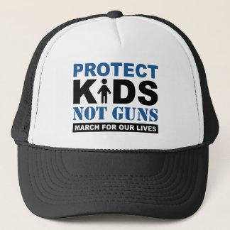 Protect Kids Not Guns Trucker Hat