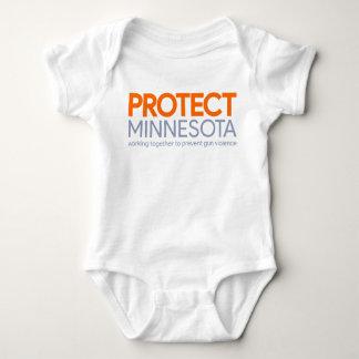 Protect Minnesota Logo Infant Bodysuit