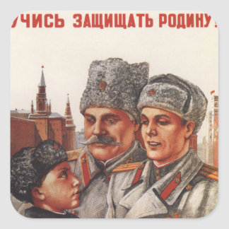 Protect Motherland Square Sticker