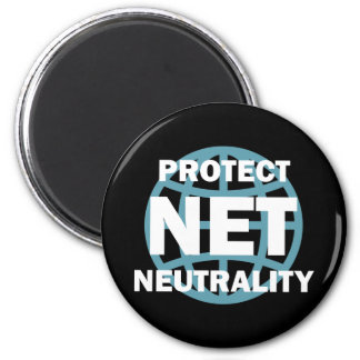 Protect Net Neutrality 2 Inch Round Magnet