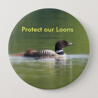 Protect our Loons Button