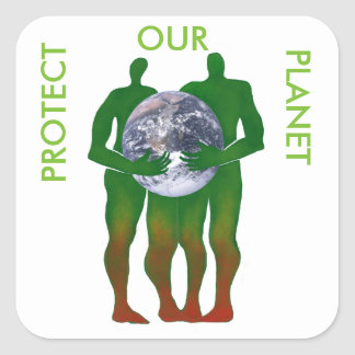 Protect Our Planet stickers
