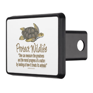 Protect Sea Turtles Trailer Hitch Cover