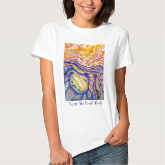Protect the Coral Reefs Tee Shirt
