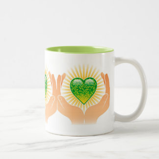Protect The Earth Heart Mug