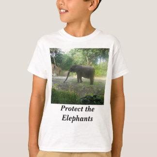Protect the Elephants #2 Kids T-shirt