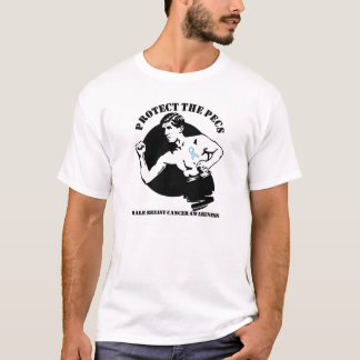 Protect the Pecs Male Breast Cancer T-Shirt