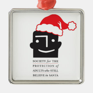 Protect the Santa Believers! SPASBS Xmas Ornament