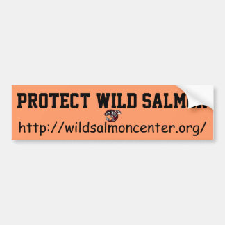 Protect Wild Salmon bumper sticker