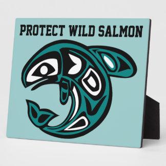 Protect Wild Salmon plaque