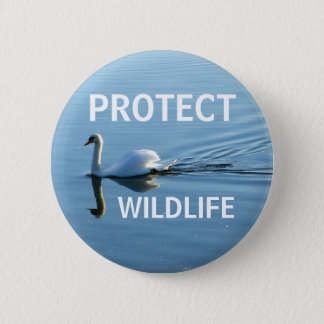 Protect Wildlife No. 3 | 2 Inch Round Button