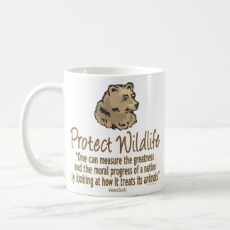 Protect Wildlife, Ursus, Bears Coffee Mug