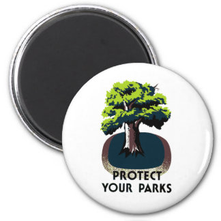 Protect Your Parks Magnet
