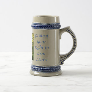 protect your right to arm bears beer stein