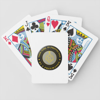 protected bicycle playing cards